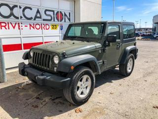 Used 2015 Jeep Wrangler Sport 4X4 for sale in Boisbriand, QC