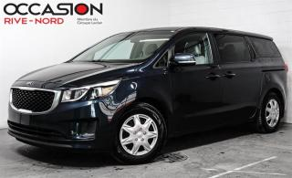 Used 2017 Kia Sedona L. CAMÉRA.DE.RECUL+AIR.CLIMATISÉ+BLUETOOTH for sale in Boisbriand, QC