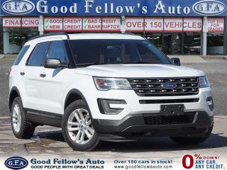 Used 2017 Ford Explorer 2.3L ECO, 7 PASS, REARVIEW CAMERA, POWER SEATS for sale in Toronto, ON