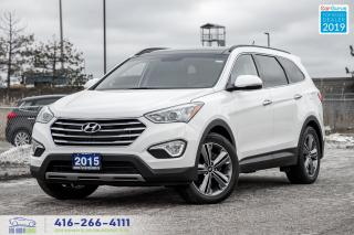 Used 2015 Hyundai Santa Fe XL Limited|AWD|Leather|Navi|Pano.Roof|6 Seater|Alloys for sale in Bolton, ON