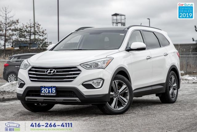 2015 Hyundai Santa Fe XL Limited|AWD|Leather|Navi|Pano.Roof|6 Seater|Alloys