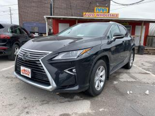 Used 2017 Lexus RX 350 Base for sale in Scarborough, ON