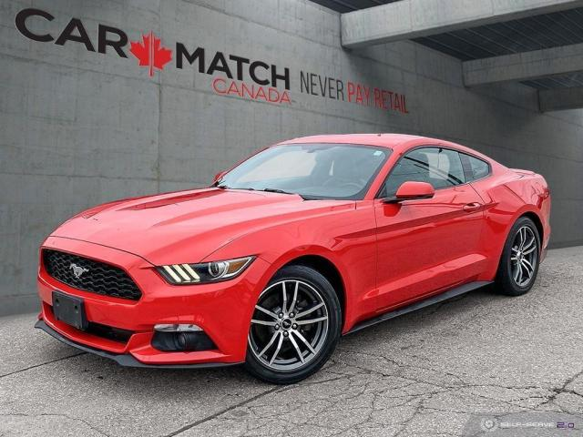 2016 Ford Mustang EcoBoost PREMIUM / LEATHER / NAV