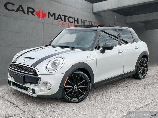 2016 MINI Cooper S / 4DR / NAV / LEATHER / NO ACCIDENTS