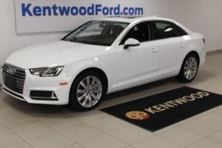 Used 2019 Audi A4 Sedan 3 Mos Deferral! *oac | LEATHER | SUNROOF | NO ACCIDENTS for sale in Edmonton, AB