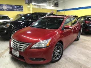 Used 2013 Nissan Sentra Leather, Sunroof, Navigation for sale in Vaughan, ON
