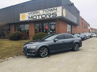 Used 2017 Audi A4 S Line/AWD/Nav/BackCam/SunRf/H.Seats/19''RS5 Rims for sale in North York, ON