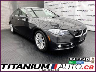 Used 2016 BMW 5 Series 360 Camera+Cooled Seats+Safety PKG-HUD+Blind Spot+ for sale in London, ON