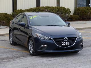 Used 2015 Mazda MAZDA3 NO-ACCIDENTS,BLUETOOTH,POWER OPTIONS,LOW KMS,SKYAC for sale in Mississauga, ON