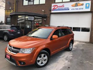 Used 2011 Dodge Journey FWD-SXT-HEATED MIRRORS*CERTIFIED* for sale in York, ON