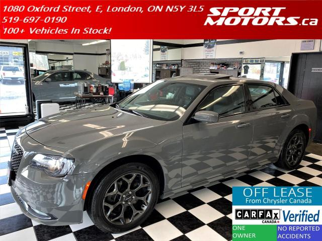 2018 Chrysler 300 300S AWD+PanoRoof+Apple Play+Accident Free