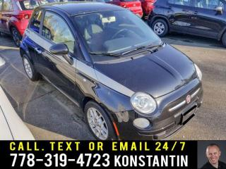 Used 2012 Fiat 500 Pop for sale in Kelowna, BC