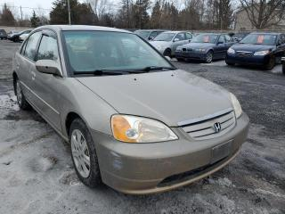 Used 2003 Honda Civic LX SEDAN 4-SPD AT WI for sale in Stittsville, ON