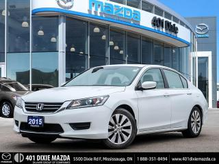 Used 2015 Honda Accord Sedan |ECON MODE|HEATED SEATS|FINANCING AVAILABLE for sale in Mississauga, ON