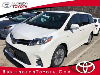 New 2020 Toyota Sienna XLE 7-Passenger AWD for sale in Burlington, ON