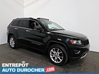 Used 2015 Jeep Grand Cherokee Limited AWD NAVIGATION - Toit Ouvrant - A/C - Cuir for sale in Laval, QC