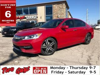 Used 2017 Honda Accord Sedan Sport | Sunroof | Htd Seats | 6Spd | Bluetooth | for sale in St Catharines, ON