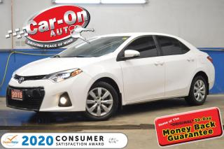 Used 2015 Toyota Corolla S REAR CAM HTD SEATS 55,000 KM BLUETOOTH LOADED for sale in Ottawa, ON