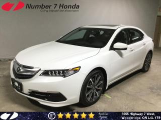 Used 2016 Acura TLX | Leather| Backup Cam| All-Wheel Drive| for sale in Woodbridge, ON