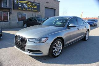 Used 2012 Audi A6 3.0T Premium,quattro,AWD,NAVI,SUNROOF for sale in Newmarket, ON