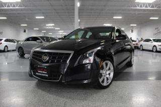 Used 2014 Cadillac ATS 2.5L I LEATHER I HEATED SEATS I PUSH START I KEYLESS ENTRY for sale in Mississauga, ON
