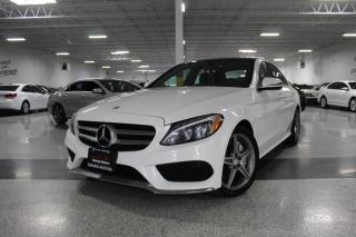 2016 Mercedes-Benz C-Class C300 4MATIC I A.M.G I NO ACCIDENTS I NAVIGATION I REAR CAM