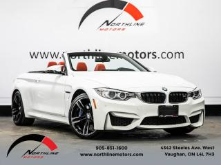 Used 2017 BMW M4 Cabriolet|Navigation|Heads Up Disp|Red Leather|Carbon for sale in Vaughan, ON