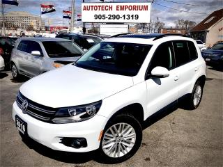 Used 2016 Volkswagen Tiguan SE Panoramic AWD/Sunroof/Bluetooth/Camera&GPS* for sale in Mississauga, ON