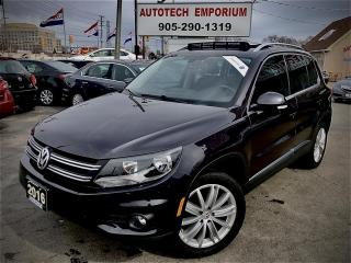 Used 2016 Volkswagen Tiguan Highline 4motion AWD Navigation/Camera/Fender Sound for sale in Mississauga, ON