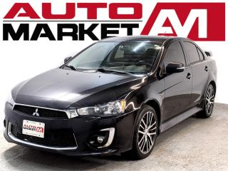 Used 2016 Mitsubishi Lancer CERTIFIED,Sunroof,WE APPROVED ALL CREDIT for sale in Guelph, ON