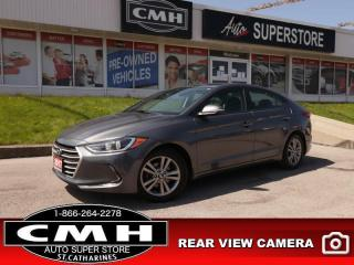 Used 2017 Hyundai Elantra GL  REAR-CAMERA HTD-SEATS BLUETOOTH for sale in St. Catharines, ON
