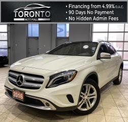 Used 2016 Mercedes-Benz GLA GLA250 4MATIC NAVI Back-Up Keyless Leather One Owner for sale in North York, ON