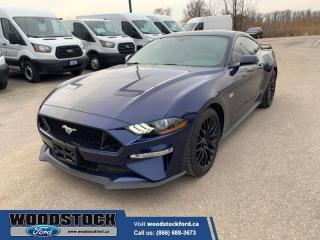 Used 2018 Ford Mustang GT Premium Fastback  GT PERFORMANCE PACKAGE, EQUIPMENT GROUP 401A, DUAL EXHAUST W/QUAD TIPS for sale in Woodstock, ON