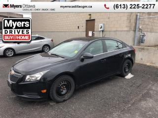 Used 2012 Chevrolet Cruze LT TURBO+ W/1SB  AUTO, A/C, CRUISE, CERTIFIED , NO ADMIN FEES for sale in Ottawa, ON