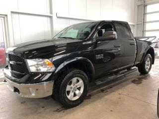 Used 2017 RAM 1500 QUADCAB 4X4, 5''BOITE Outdoorsman CAMERA DE RECUL ÉCRAN 8'' for sale in St-Nicolas, QC