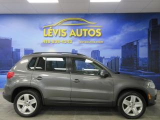 Used 2016 Volkswagen Tiguan 4MOTION GPS NAVIGATION TOIT PANORAMIQUE for sale in Lévis, QC
