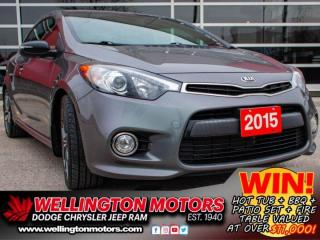 Used 2015 Kia Forte Koup SX --> INCL. WINTER TIRES ON RIMS !! for sale in Guelph, ON
