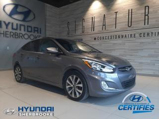 Used 2015 Hyundai Accent SE+TOIT+MAGS+BANCS CHAUFF+BLUETOOTH for sale in Sherbrooke, QC