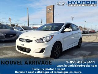 Used 2014 Hyundai Accent GL+A/C+BANCS CHAUF+BLUETOOTH+CRUISE+MAGS for sale in Sherbrooke, QC