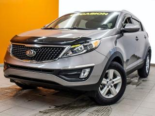 Used 2014 Kia Sportage LX CLIMATISEUR *BAS KILOMÉTRAGE* PROMO for sale in Mirabel, QC
