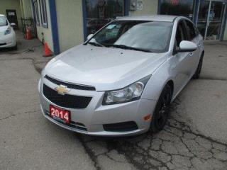 Used 2014 Chevrolet Cruze FUEL EFFICIENT 1-LT MODEL 5 PASSENGER 1.4L - TURBO.. CD/AUX/USB INPUT.. BACK-UP CAMERA.. TOUCH SCREEN DISPLAY.. KEYLESS ENTRY.. for sale in Bradford, ON