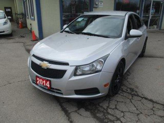 2014 Chevrolet Cruze FUEL EFFICIENT 1-LT MODEL 5 PASSENGER 1.4L - TURBO.. CD/AUX/USB INPUT.. BACK-UP CAMERA.. TOUCH SCREEN DISPLAY.. KEYLESS ENTRY..