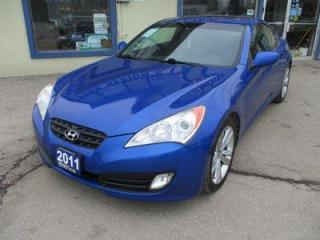 Used 2011 Hyundai Genesis LOADED COUPE-EDITION 4 PASSENGER 2.0L - TURBO.. LEATHER.. HEATED SEATS.. POWER SUNROOF.. BLUETOOTH SYSTEM.. CD/AUX/USB INPUT.. for sale in Bradford, ON