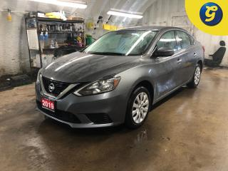 Used 2019 Nissan Sentra SV * Push button ignition * Back up camera * Apple Car paly/Anroid Auto * Intelligent Emergency Braking (IEB) * Heated front seats * Nissan connect to for sale in Cambridge, ON