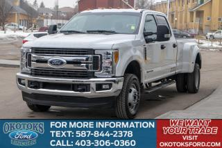 Used 2017 Ford F-350 XLT VALUE PACK/PWR TELESCOP MIR/REM START/DUALLY/NEW TIRES for sale in Okotoks, AB