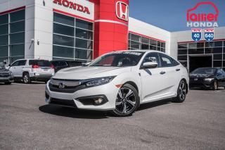 Used 2018 Honda Civic GARANTIE LALLIER MOTO-PROPULSEUR 10ANS/200,000 KIL S2734  BLANC for sale in Terrebonne, QC