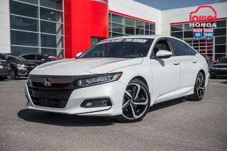Used 2018 Honda Accord GARANTIE LALLIER MOTO-PROPULSEUR 10ANS/200,000 KIL P5011  BLANC for sale in Terrebonne, QC