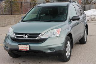 Used 2010 Honda CR-V LX CERTIFIED for sale in Waterloo, ON
