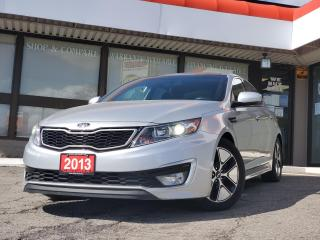 Used 2013 Kia Optima Hybrid Premium NAVIGATION | Leather | CERTIFIED for sale in Waterloo, ON