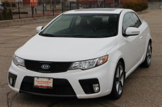 Used 2013 Kia Forte Koup 2.4L SX Luxury Sunroof | Leather | Heated Seats | CERTIFIED for sale in Waterloo, ON